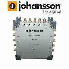 More details for johansson 9937 sky q 2 way splitter 4x satellite + 1x terrestrial