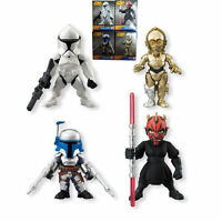 4 STAR WARS DARTH MAUL CLONE TROOPER C-3PO ACTION FIGURES TOY CAKE TOPPER DECOR