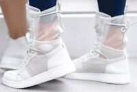 NikeLab Jordan AJ1 EXPLORER XX OFF WHITE Trainer Boot  AO1529-100 UK5.5/US8