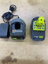 Ryobi Charger& Battery 18V (Cgh017227)