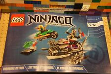 LEGO 70722 Ninjago Nindroid OVERBORG ATTACK Instructions Booklet Lloyd Cryptor