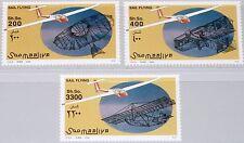 SOMALIA 2002 995-97 Segelflugzeuge Glider Sailplanze Aircrafts Flugzeuge MNH