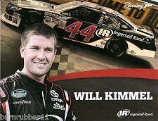 "2014 WILL KIMMEL ""INGERSOLL RAND 3RD VERSION"" #44 RICHMOND NASCAR NWIDE POSTCARD"