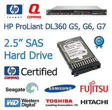 "72GB 2.5 ""SAS SCSI 10K Upgrade / ricambio per HP ProLiant DL360 G5 Hard Drive"