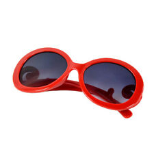 Semi Retro-inspired Tranparent Round Butterfly Clouds Sunglasses Sun Glasses