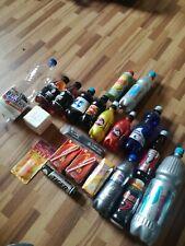 Energy drink Flaschen Auflösung Voll Leer collector Empty bottle Lucozade Mars
