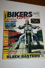 5 x Bikers live  Nr. 6/96,1/97,2/97,3/97 und 4/97  Motorrad-Zeitschrift CUSTOM
