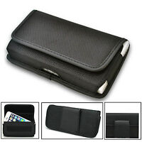 Rugged Nylon Horizontal Wallet Belt Pouch Cover For Various Phones PDA IPOD