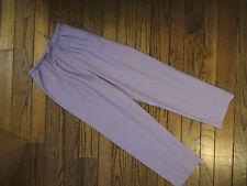 NWOT Liz Baker Purple Linen Blend Pants      Size PS