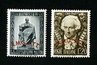 Trieste Stamps # 45-6 VF OG LH