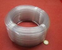 """PVC Tubing, Clear, 1/4"""" OD x 3/16"""" ID x 1/32"""" Wall x 100 Foot Coil"""