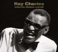 Ray Charles - 6 Complete Essential Original Albums 3CD 2016 NEW/SEALED
