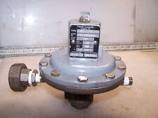 """FISHER 1/4"""" STAINLESS PRESSURE REDUCING VALVE TYPE 95L   CF8M"""