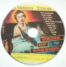 Crime of Passion 1957 B.Stanwyck/Hayden/Burr/Gerd Oswald/Crime/Drama/Film Noir