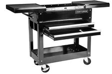 Cleaning And Organizing Personal Roll Cart Mechanics Tool Box Workshop All Steel