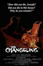 La Changeling Película Póster: 27.9x43.2cm: George C. Scott, Terror