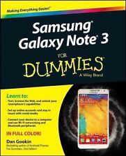 Samsung Galaxy Note 3 for Dummies by Dan Gookin (Paperback, 2014)