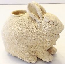 Bunny Rabbit Candle Holder Figurine Easter Decoration UDC