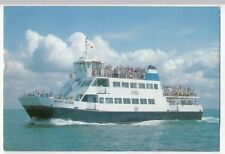 Isle Of Wight Ferry, 'Wight Scene' Catamaran PPC by Beken, 1990's Unposted