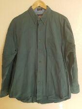 Ralph Lauren Large Green Button Down Dress Shirt Long Sleeve 17 34-35