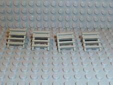 LEGO® Classic Space 4x Leiter 4175 Ladder Eisenbahn Train 6597 alt hellgrau K117