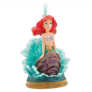 Authentic Disney Princess Ariel Mermaid Singing Christmas Ornament Decoration