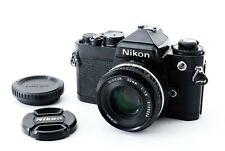 Excellent++++ Nikon FE Black w/ Ai-s 50mm f/1.8 35mm Film Camera from JAPAN