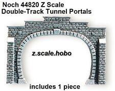 Noch Z Scale 44820 Stone Tunnel Portal Double Track Foam *NEW $0 Shipping