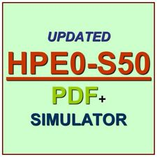 HP Integrating HPE Synergy Solutions Exam HPE0-S50 Test QA SIM PDF+Simulator