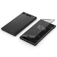 Original Sony Style Cover Touch Schutz Hülle SCTG50 für Xperia XZ1 Schwarz