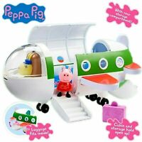 Peppa Pig Aeroplane Playset - Air Peppa Plane Airplane Play Set Toy + Figures