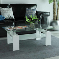 Tavolo Con Ripiano In Vetro.Table Console Entry Table Shabby Mdf With Drawer White Black Grey