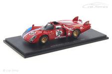 Alfa Romeo T33/2 24h Le Mans 1969 Gosselin / Bourgoignie Spark 1:43 S8801