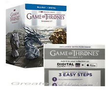 Game of Thrones: The Complete Season 1-7 (Blu-Ray) NO DISCS DIGITAL CODE ONLY