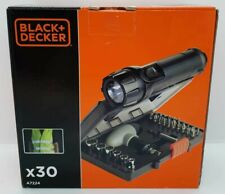 Black & Decker 30 Piece Screwdriver Accessory Kit