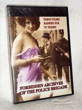 Forbidden Archives Of The Police Brigade (DVD, 2019) NEW retro vintage cinema