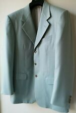 Pal Zileri JACKET pit to pit 22in cashmere silk blue Made in Italy