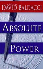 Absolute Power, David Baldacci, First Printing January 1996 Good