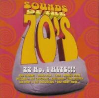 Sounds of the 70's:22 No.1 hits T-Rex, Gary Glitter, Mungo Jerry, 10cc, E.. [CD]
