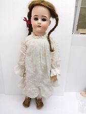 Eso-18084 VECCHIO ORIGINALE MAX handwerck PORCELLANA testa bambola h:ca.64cm