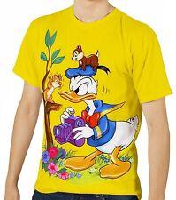 Donald Duck Herren Kurzarm T-Shirt Tee wa1 aao30102