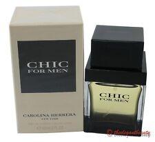 Chic by Carolina Herrera for Men 2.0 oz EDT Spray - New in box