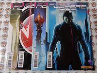 Nowhere Man (2011) Dynamite - #1,#2,#3,#4, Comp Series, Nano-Tech Virus, FN+-VF