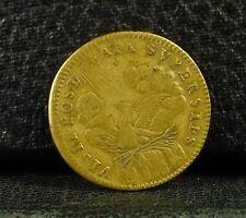 Jeton royal Lud XIIII XIV Nav Rex Phoenix supersies french  token Medal