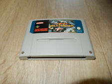 PAL SNES: F1 Pole Position Loose Game Super Nintendo