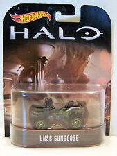 Hotwheels Retro Halo Unsc gungoose con neumáticos de goma