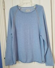 Tommy Bahama Mens Blue Knit Sweater Size L Cotton