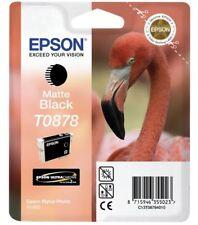 Epson t0878 tinta maletero Black negro mate Stylus Photo r1900 c13t08784010 OVP