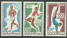 Mauritanie Mauritania Sport Jeux Olympiques Mexico Olympic Games Spiele ** 1969