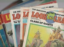 10 x LOOK AND LEARN magazines bundle #923-925, #496-501 & #541